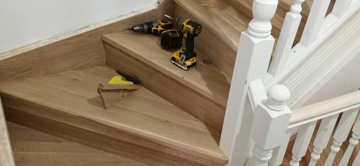 Wooden stairs Swindon 3