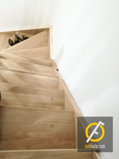 Wooden stairs Swindon