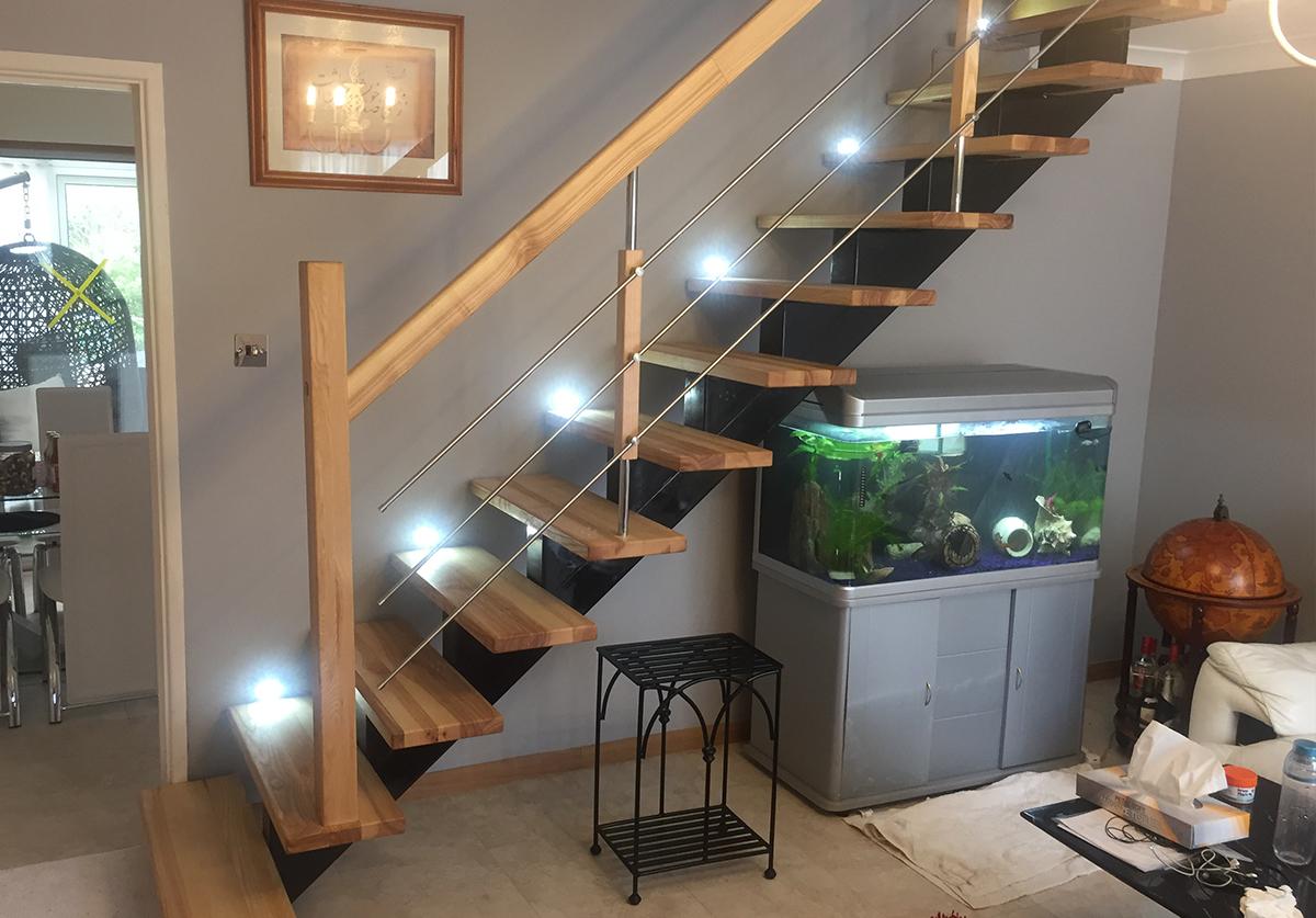 Make to measure metal staircases