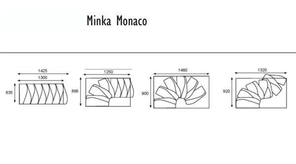 Minka Monaco Walnuss
