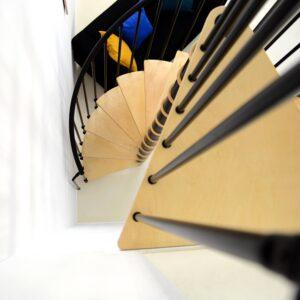 Berlin Spiral Staircase 120 / 140 cm