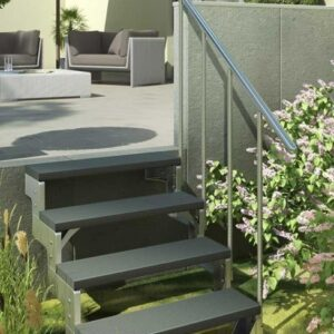 Dolle Gardentop Straight Outdoor Stairs