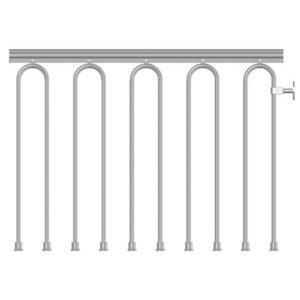 Spiral N3 Balustrade